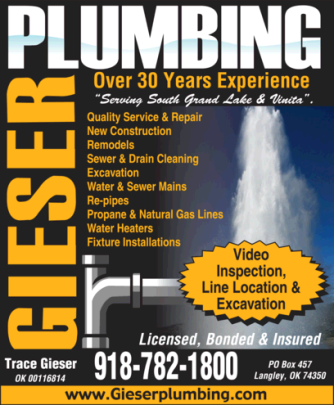 Gieser Plumbing the Grand Lake Plumbing Team