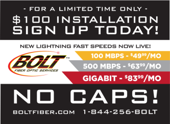 BOLT Fiber Optic Services