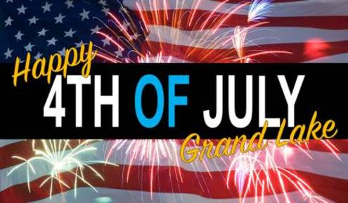 Grand Lake Area Celebrates 2018 Fourth of July with Fireworks and Fun