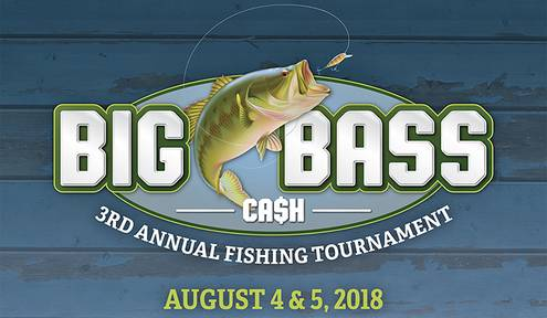 Third Annual Big Bass Ca$h Fishing Tournament Set for August 4-5 on Grand Lake