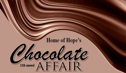 Indulge Your Sweet Tooth at Home of Hope's Annual Chocolate Affair, February 6
