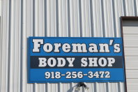 Foremans Body Shop and Juniors Wrecker