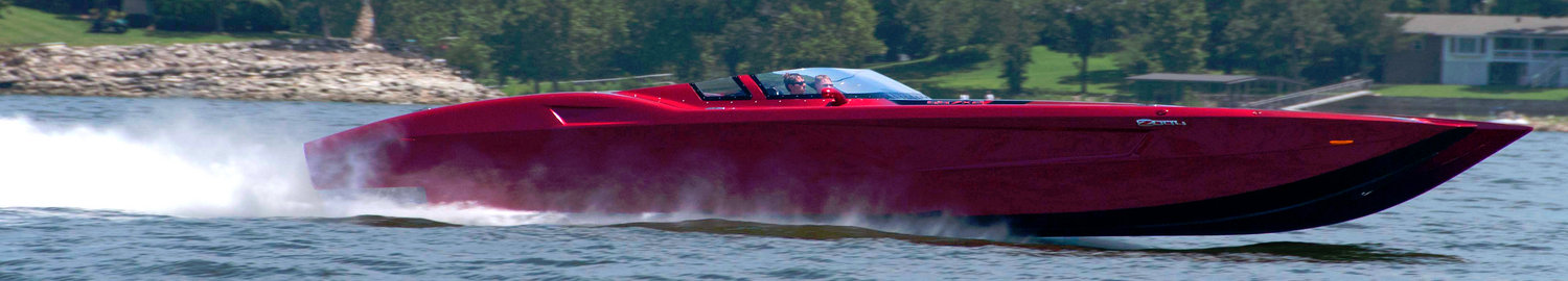 Speed Boat on Grand Lake