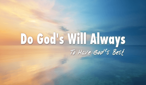 God's Will by Jewels From The Word