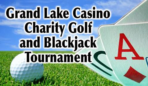 14th Annual Grand Lake Casino Charity Golf and Blackjack Tournament Teeing Off