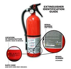 Fire Extinguishers Recalled