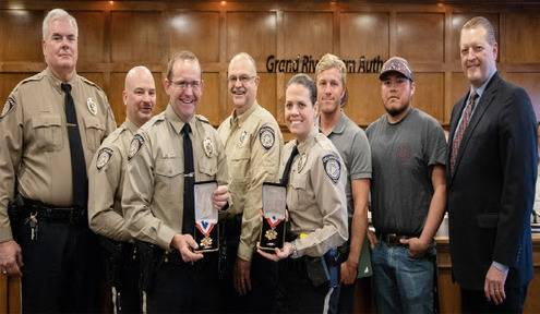 Responders Recognized for Lifesaving Efforts