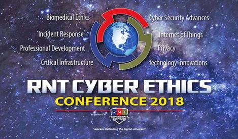 Registration Under Way for RNT Cyber Ethics Conference 2018, Oct. 30-31
