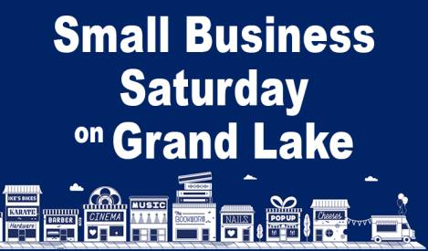 Celebrate and Support Locally Owned Businesses on Grand Lake During Small Business Saturday
