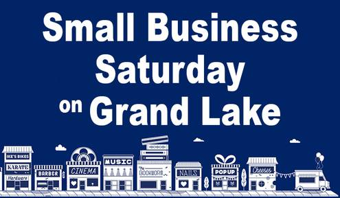 Support Locally Owned Businesses on Grand Lake During Small Business Saturday