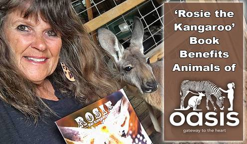 Linda Goldner Pens Book Featuring the Animals of Oasis Animal Adventures