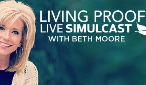 A global Bible teaching event with Beth Moore coming to Grove