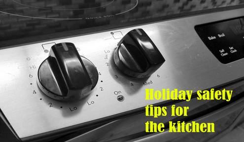 Kitchen safety tips for the holiday season