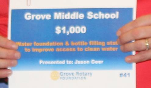 Grove Middle School Grants