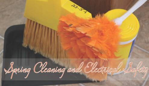 Spring cleaning and spring electrical inspections