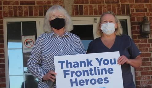 US Renal named Frontline Hero