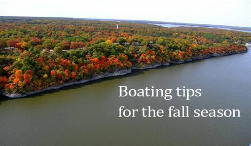 Safe Boating Tips for Popular Fall Season
