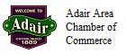 Member of Adair Area Chamber of Commerce
