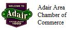 Member of Adair Area Chamber of Commerce